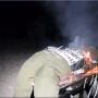 Israël: des orthodoxes extrémistes brûlent une poupée soldat sur un barbecue