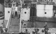Hagana bateau vers Israël