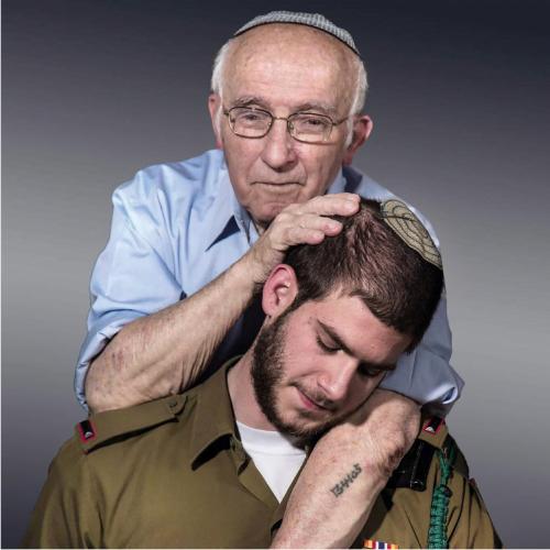 Résilience. Tsvi Irnold 90 ans et son petit-fils Or Yossef 21 ans