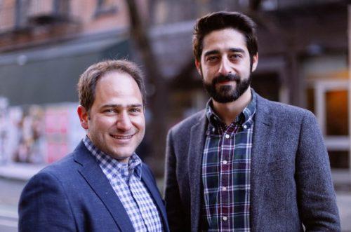Yotam Cohen et Zohar Dayan, cofondateurs de Wibbitz
