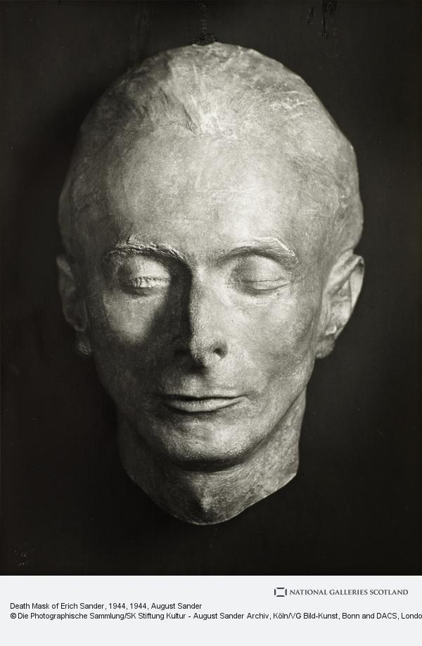 masque mortuaire de August Sander