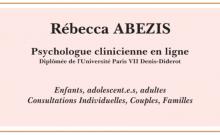 Psychologue en ligne  Rebecca Abezis