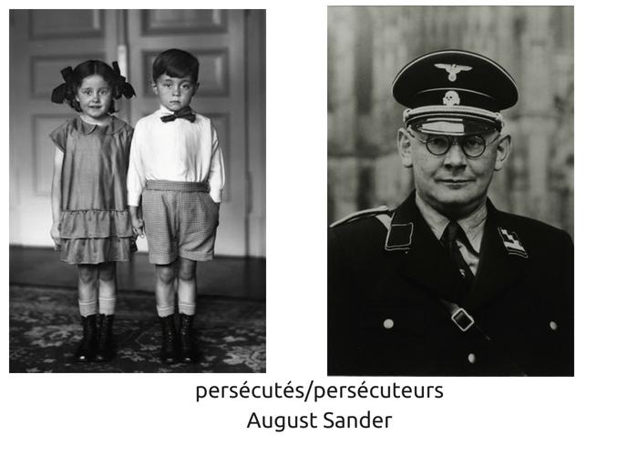 Persécutés persécuteurs portrait d'August Sander, exposition au mémorial de la Shoa