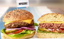 Un cheeseburger kasher grâce à l'Impossible Burger