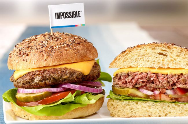 Un cheeseburger kasher grâce à l'Impossible Burger