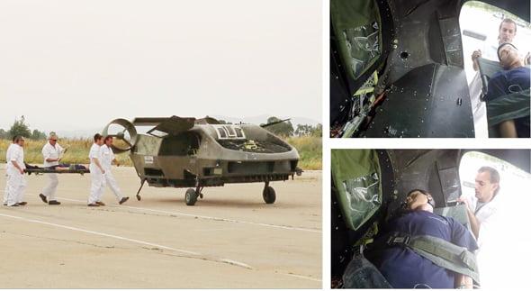 Innovation israélienne: le drone ambulance Cormorant est opérationnel