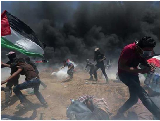 Gaza: une autre journée de manifestations violentes se prépare