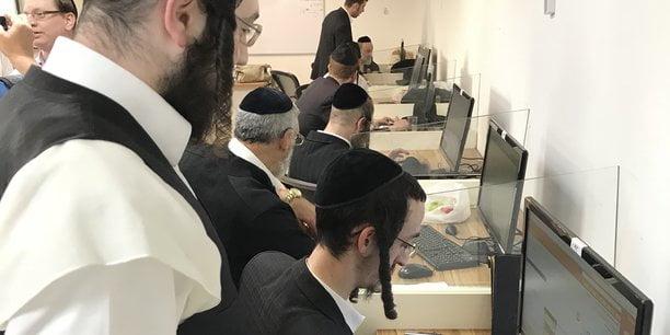 Le centre Kivun qui forme à l'informatique attire les ultra-orthodoxes prêts à se lancer dans la tech ou le business. (Crédits : DR)
