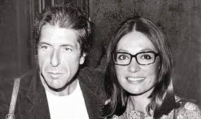 Nana Mouskoury avec Leonard Cohen