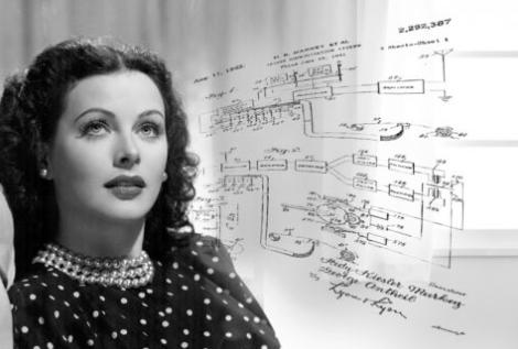 Hedy Lamarr la grande actrice hollywoodienne qui inventa la wifi