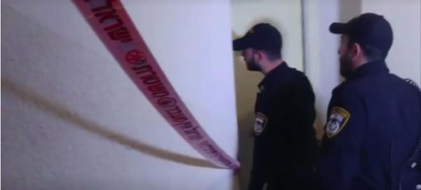 La police sur les lieux du drame à Jaffa