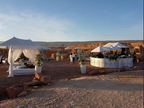 Hébergement et restauration de luxe chez les bédouins du Negev