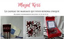 Mazal -Koss le cadeau de mariage qui vous rendra unique