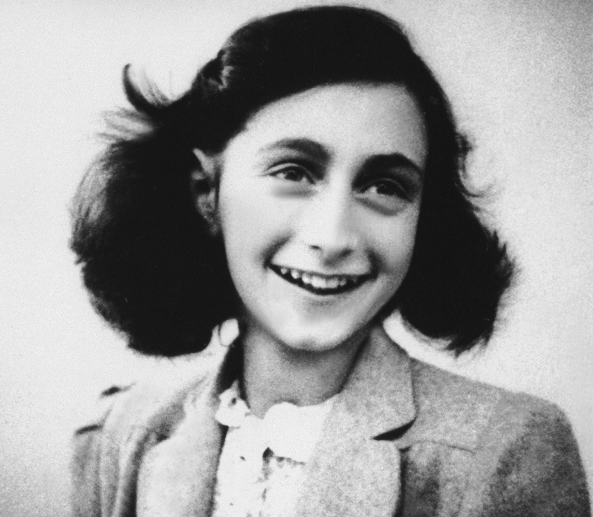 Anne Frank (1929-1945) jeune juive allemande auteur d'un journal intime, elle mourut au camp de concentration de Bergen-Belsen --- Anne Frank (1929-1945) young German-Jewish diarist, she died in concentration camp of Bergen-Belsen