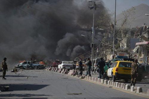 un attentat à la voiture piégée à Kaboul pendant le Ramadan en 2017