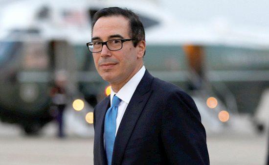 Le secrétaire au Trésor des États-Unis, Steven Mnuchin. Photo: Reuters