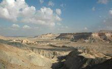 Le désert du Negev, des vacances en Israël sur un sable différent
