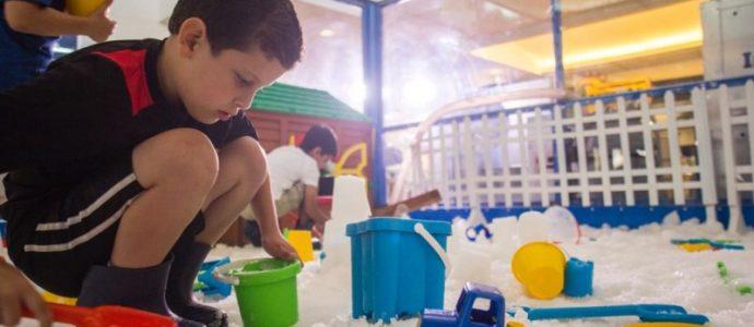 Israël: pour la première fois, un parc enneigé à Tel Aviv