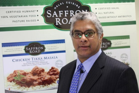 L'entrepreneur du secteur alimentaire Adnan Durrani