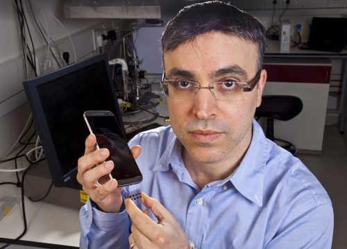 Le Professeur Hossam Haick, créateur de Nanose. Photo avec l'aimable autorisation du Technion-Israel Institute of Technology