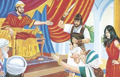 la justice dans le judaïsme le jugement du roi salomon