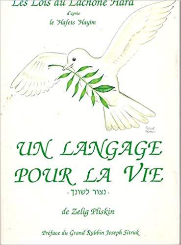 un langage pour la vie d'après Hafetz Haim