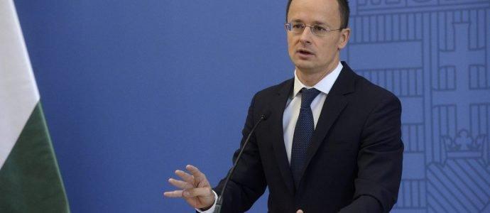 Péter Szijjártó, le ministre des Affaires étrangères hongrois.