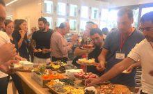 French Tech à Tel-Aviv buffet dinatoire