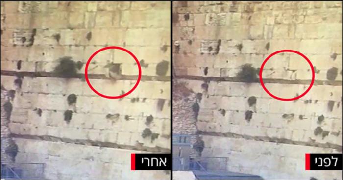 Israël: une pierre se détache du Kotel et s'écrase dans la section de prière égalitaire