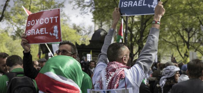 Des adolescents juifs visitent Israël pour combattre le BDS à la maison