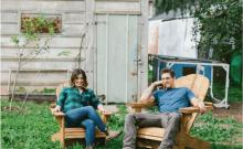 Israël: un couple israélien choisit une ferme pour sa lune de miel