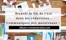 Alliance Communication relation presse communauté juive et presse nationale