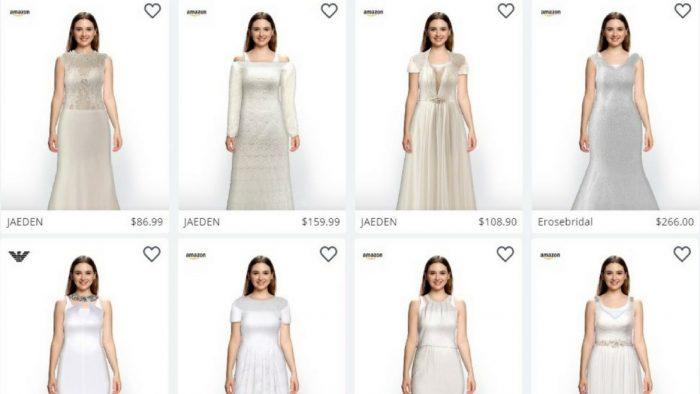 Amazon partenaire d'une startup israélienne pour l'essayage virtuel de robes de mariée