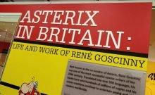 Astérix en Grande-Bretagne ; René Goscinny au Jewish Museum