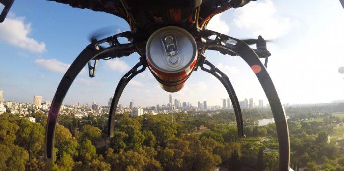 Israël: les repas livrés par drone pourraient bientôt devenir une réalité
