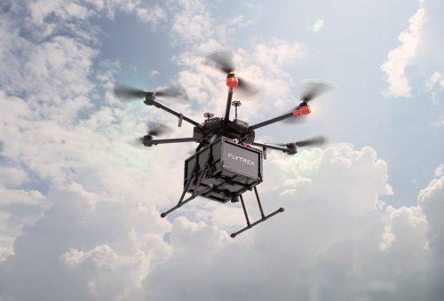 Un drone Flytrex