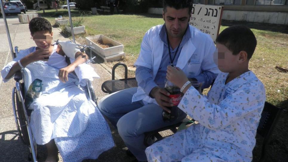accord bon voisins : des enfants syriens soignés par Israël à Naharya