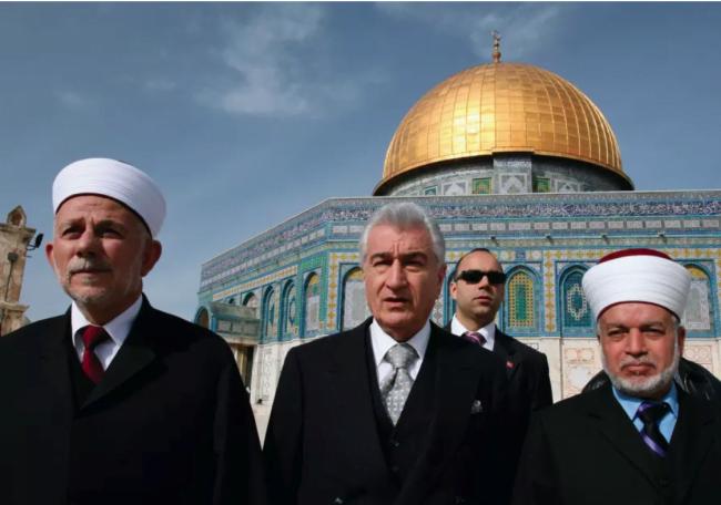 Le mufti de Jérusalem condamne les fouilles israéliennes