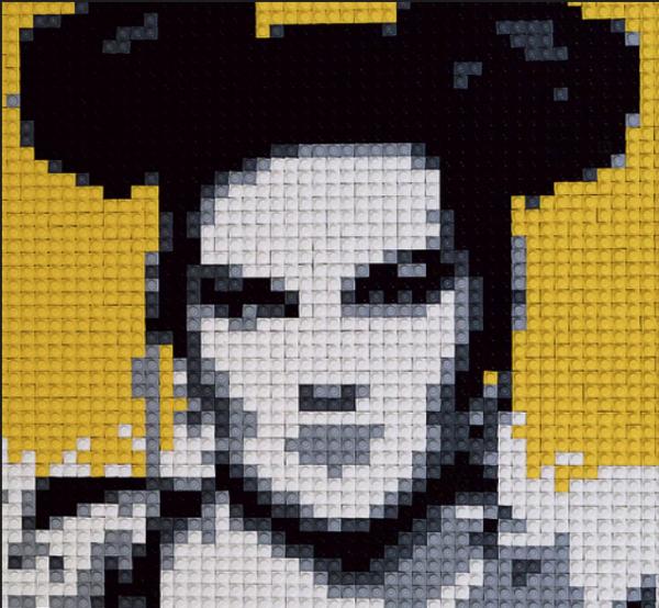 Une exposition de portraits de célébrités israéliennes en Legos