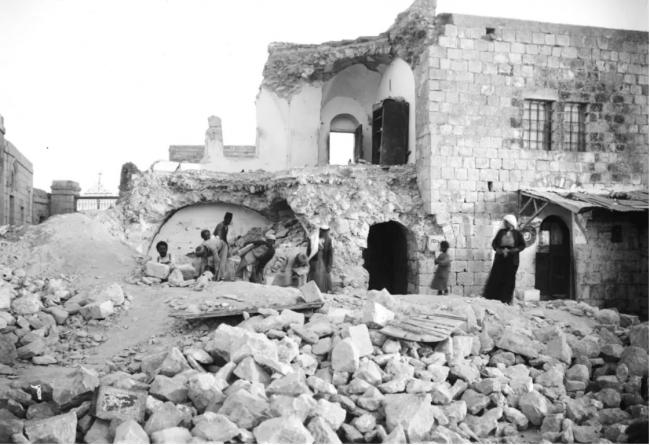 Il y a 91 ans jour pour jour, un tremblement de terre majeur secouait Israël