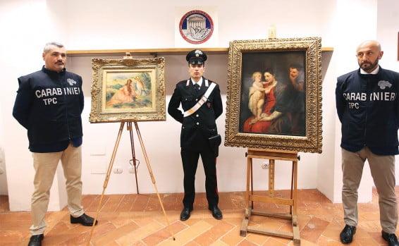 Italie: il se fait passer pour un rabbin etvole des toiles de maître