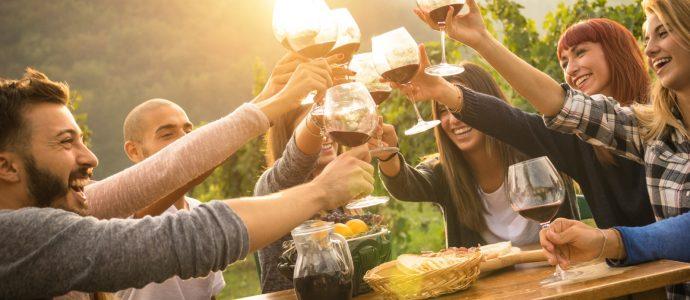 Israël: une autre excellente raison de boire du thé vert et du vin