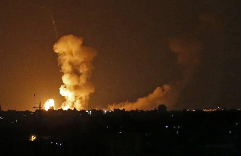 Bombardement Israël Hamas