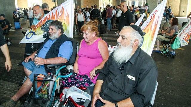 Mouvement handicapé