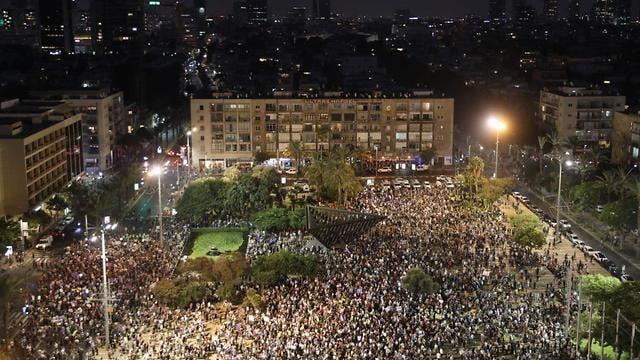 Manifestation Juifs et Arabes