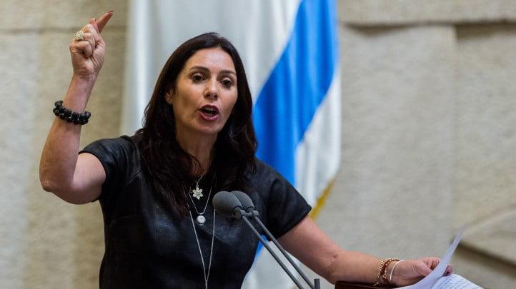 La ministre de la culture et des sports, Miri Regev, demande à mettre fin au boycott des joueurs israéliens.