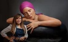 Feuerman Sculpteuse la reine mere de l' hyperréalisme