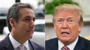 Trump et son ex avocat michael cohen