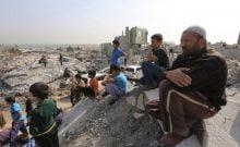 Plus de la moitié de la population de la Bande de Gaza vivent dans la pauvreté.