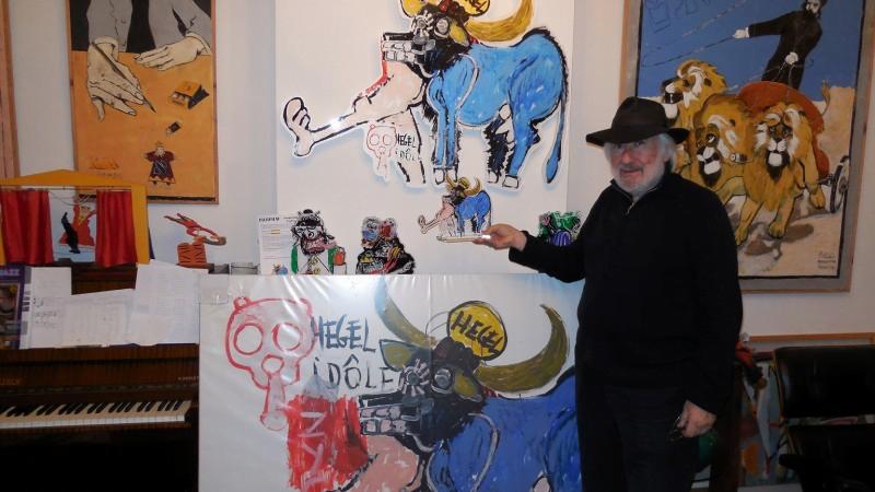 artiste peintre juif belge Richard  Kenigsman